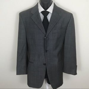 Jones New York Three Button Sport Coat Wool Blazer